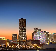 Yokohama Sunset by GVarney