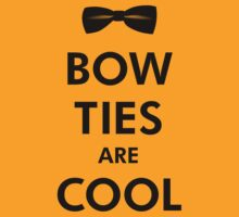Bow Ties Are Cool - Doctor Who Tribute by fauxtauxgraphy