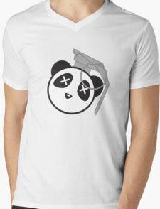 Boom Boom Panda  Mens V-Neck T-Shirt