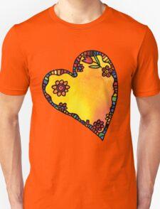 Hippy heart T-Shirt