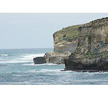 Rugged Cliffs  Photographic Print