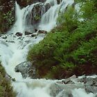 Another Scottish Waterfall by Carla Maloco