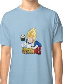 Vegeta's Super Saiyan Sushi Z Classic T-Shirt