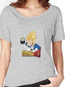 Vegeta's Super Saiyan Sushi Z Women's Relaxed Fit T-Shirt