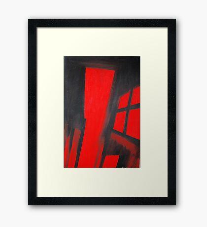 Innen - Inside Framed Print