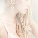 Girl with flower earring by Christinaanaya