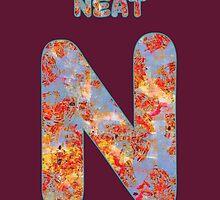 Alphabet - Neat N by Geckojoy