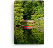 Portmeirion Reflections Canvas Print