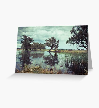 Rains in the King valley 1 Greeting Card