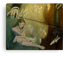 Adagio - Sentimental confusion Canvas Print
