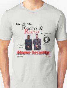 Rocco and Rocco Home Security (alt. design) T-Shirt