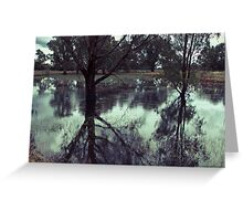 Rains in the King valley 2 Greeting Card