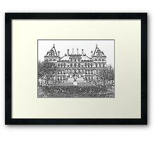NYS Capitol Building - Albany NY Framed Print