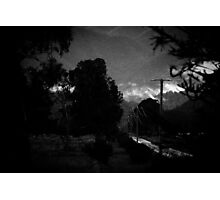 mountains after rain. Photographic Print