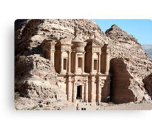 El-Deir (The Monastry) Canvas Print