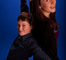 Brother and sister (2) by Caitlin Dickman