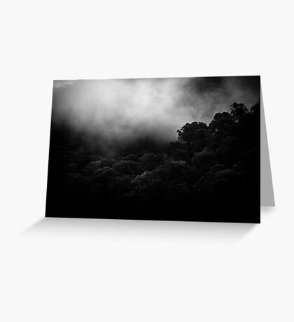 mountains after rain... Greeting Card