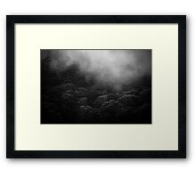 mountains after rain..... Framed Print