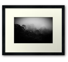 mountains after rain...... Framed Print
