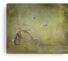 Abandoned But Not Forgotten Canvas Print