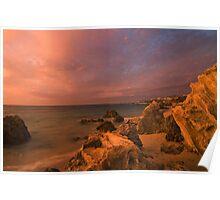 Magenta Sky - Trigg Island Perth Poster
