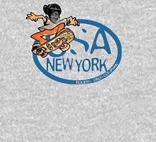 usa new york tshirt skater by rogers bros co Unisex T-Shirt