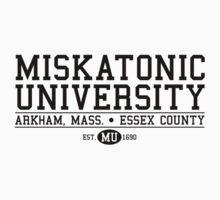 Miskatonic University - Black by Josh Legendre