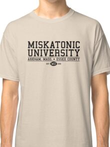 Miskatonic University - Black Classic T-Shirt