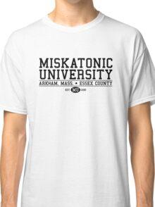 Miskatonic University - Black Classic T-Shirt
