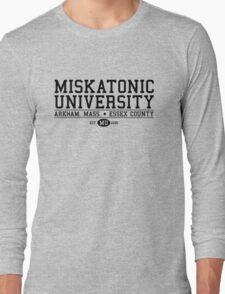 Miskatonic University - Black Long Sleeve T-Shirt