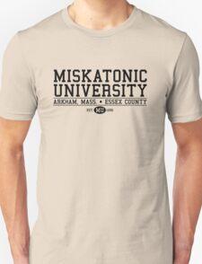 Miskatonic University - Black T-Shirt