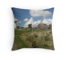 Llynon Mill, Anglesey Throw Pillow