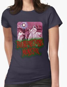 Frankensteins Monster Womens Fitted T-Shirt