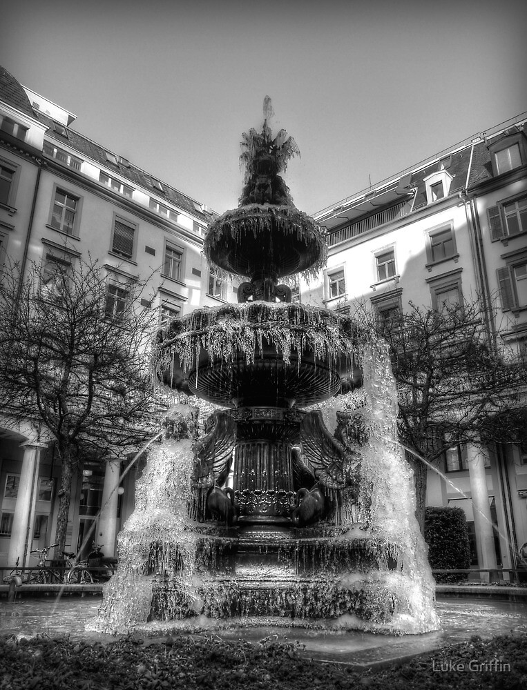 Frozen Fountain by Luke Griffin