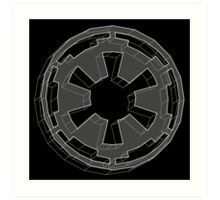 Star Wars Imperial Crest - 1 Art Print