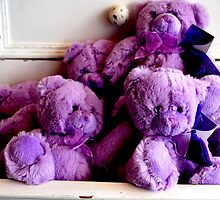 Teddies in the Draw by oddoutlet