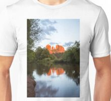 Cathedral Rock Reflection 3 Unisex T-Shirt