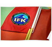 IFK Kyokushin karate Poster