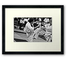 Fight 5 Framed Print