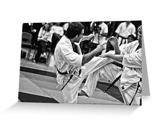 Fight 5 Greeting Card