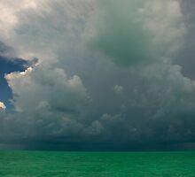 Storm clouds, Bahamas by Shane Pinder
