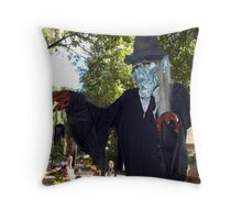 Welcome to my abode Throw Pillow