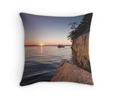Indian Harbour Throw Pillow