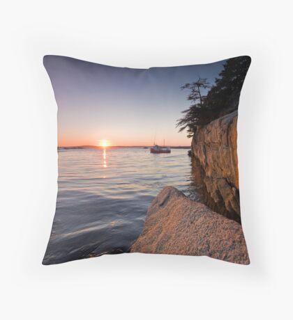 Indian Harbour Throw Pillow