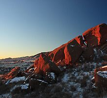 Red Rocks 001 by J. L. Gould