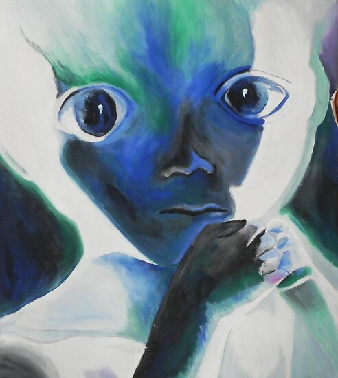 Baby alien by Margherita Bientinesi