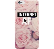 Internet AF Floral iPhone Case/Skin