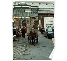 Covent Garden Market, London, 1973. Poster