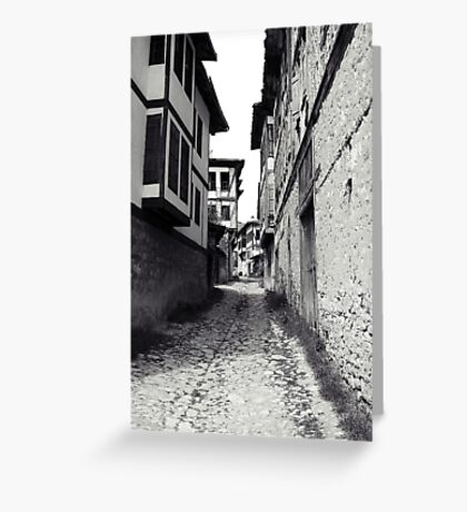 The stone way. Greeting Card