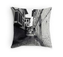 The stone way. Throw Pillow